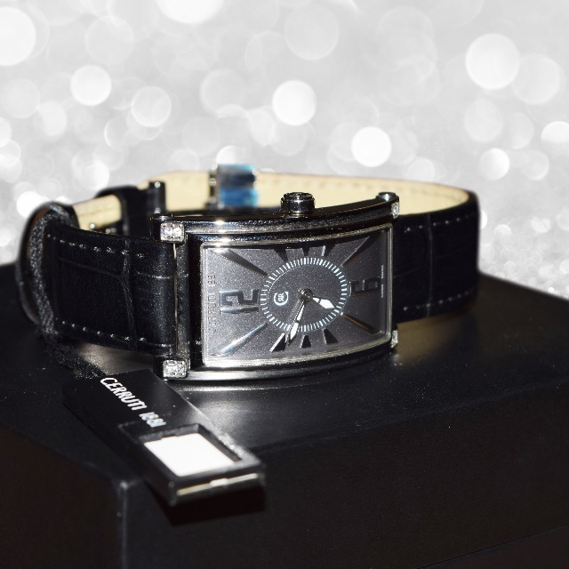 watches loading s hers mens and cerruti steel is swiss genova his itm ladies stainless new silver image