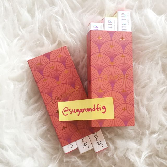 COLOURPOP BUNDLE SET - READYSTOCK