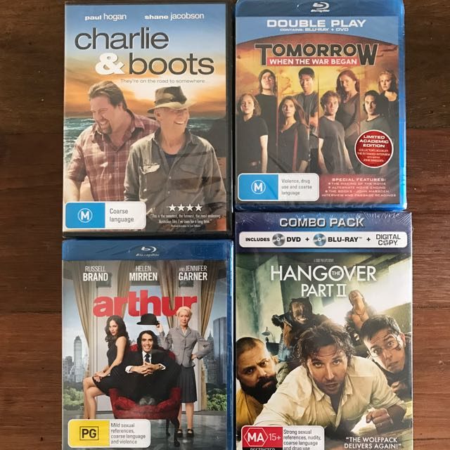 DVDs & Blu Ray Bundle