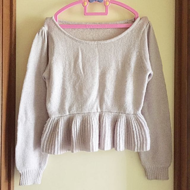 E Hyphen World Gallery / Lilac Knit Jumper