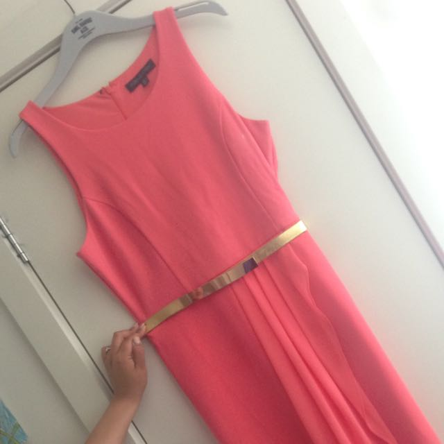Forever New Coral Dress
