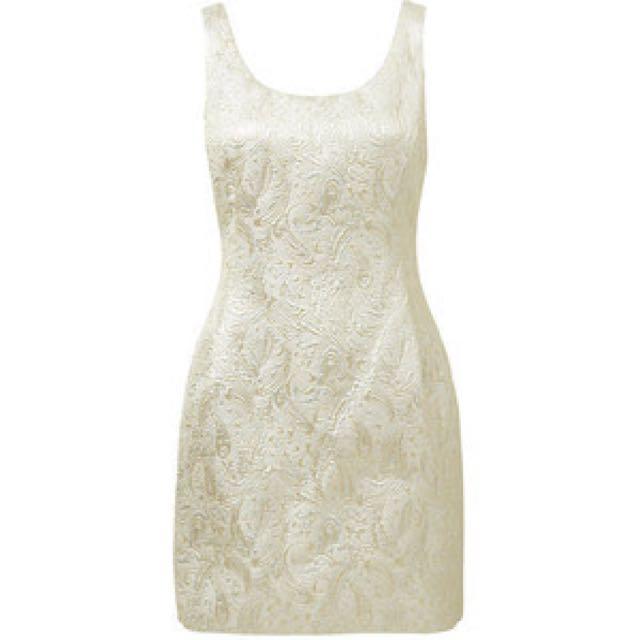 Forever New Renee Jacquard Dress BNWT Sz 10