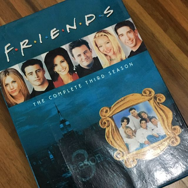 FRIENDS Season 3 Box Set DVD (original)