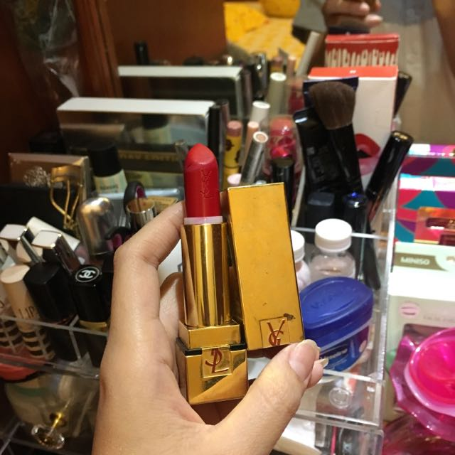 [GoodDeal]YSL Lipstick rouge Pur Couture #01