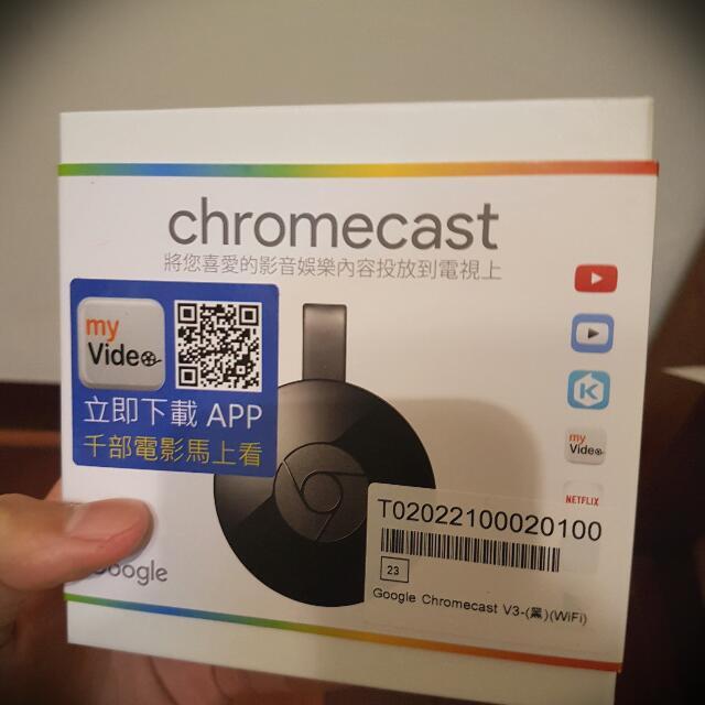 Google Chromecast V3  賣場最低價