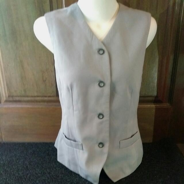 Grey Vest Outer