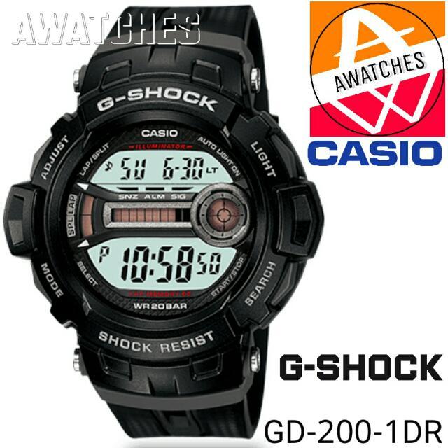 GSHOCK GD 200 1DR 100% Original
