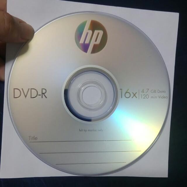 HP DVD-R Disk