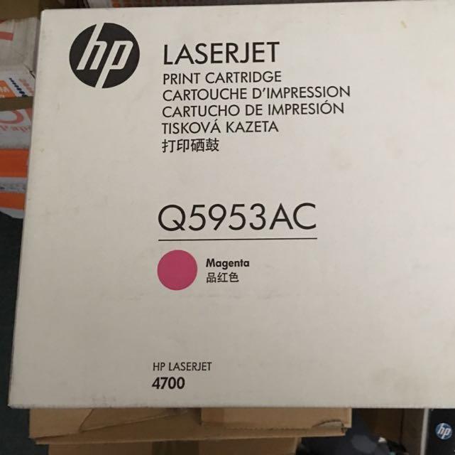 HP原廠碳粉匣Q5953AC