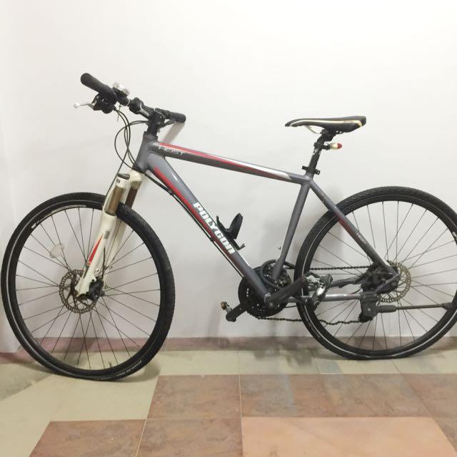 Hybrid Bike Polygon Heist 2014
