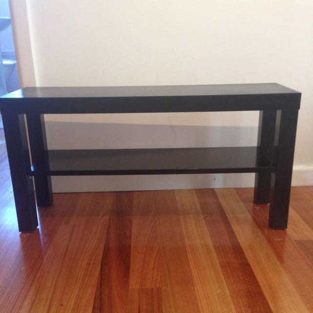 IKEA Lack Black TV Bench