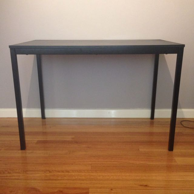 IKEA Tärendö Black Dining Table