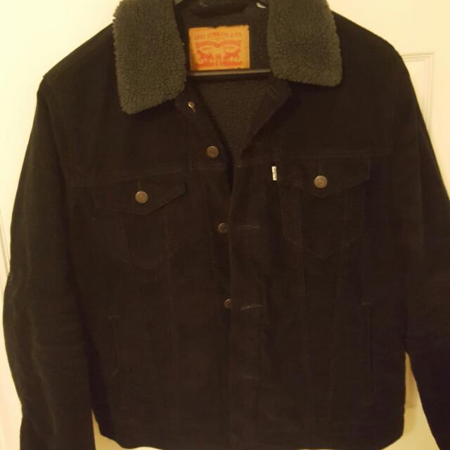 Levis Mens Sherpa Jacket