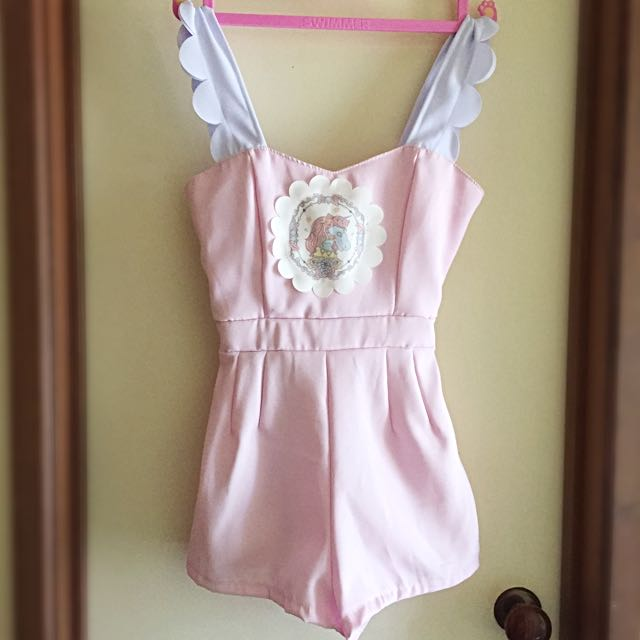 Macaron Hombeth / XS / Magical Unicorn Playsuit