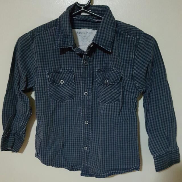 Mango Kids Denim Shirt