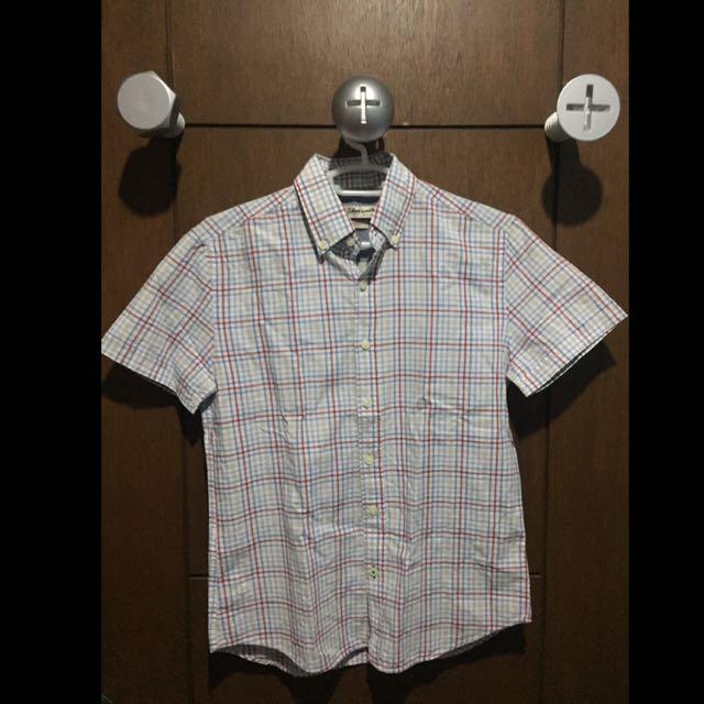 Mango Man Short Sleeve Button Down Shirt