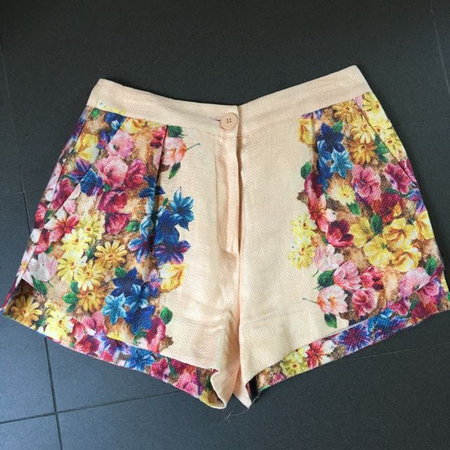 MANNING CARTEL Floral Shorts Sz 12