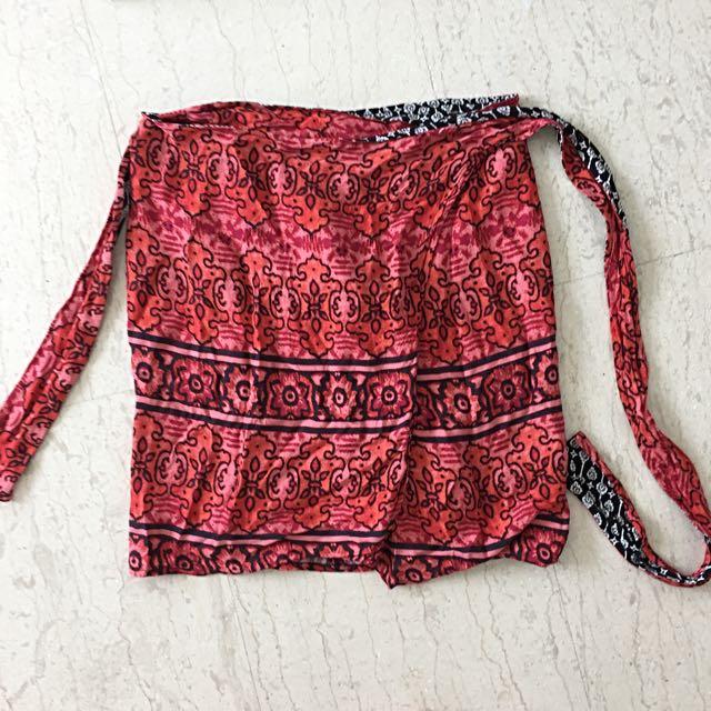 Minkpink Wrap Skirt