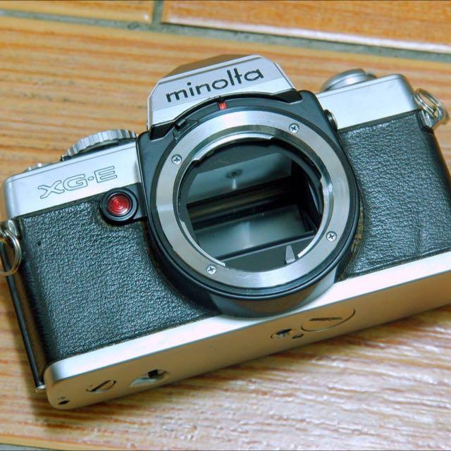Minolta xge 底片相機