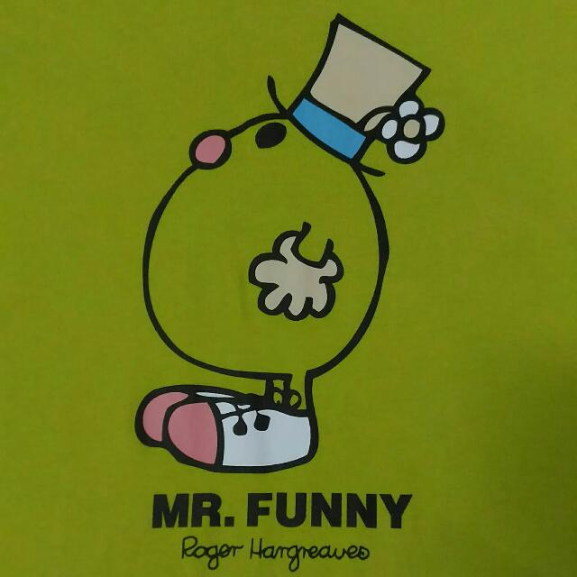 MR MEN LITTLE MISS Mr Funny Tee (Almost BN, Size M)