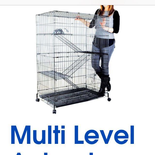 Multilevel Small Animal / Bird Cage