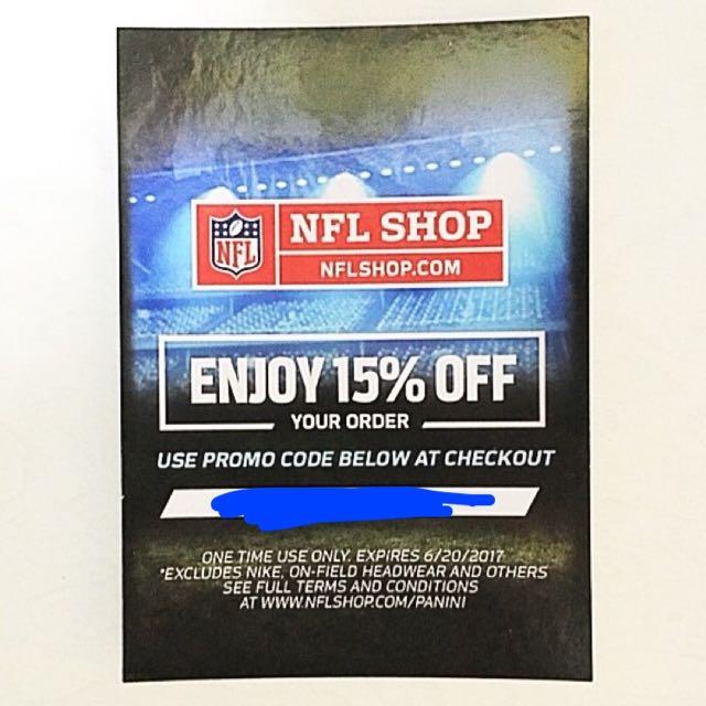 NFL SHOP 15% OFF