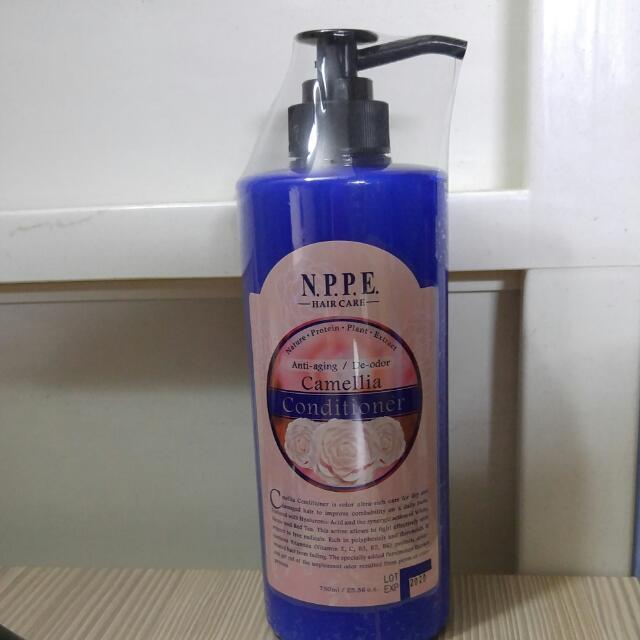 NPPE 采蒂 三茶花護色護髮素 750ML 全新