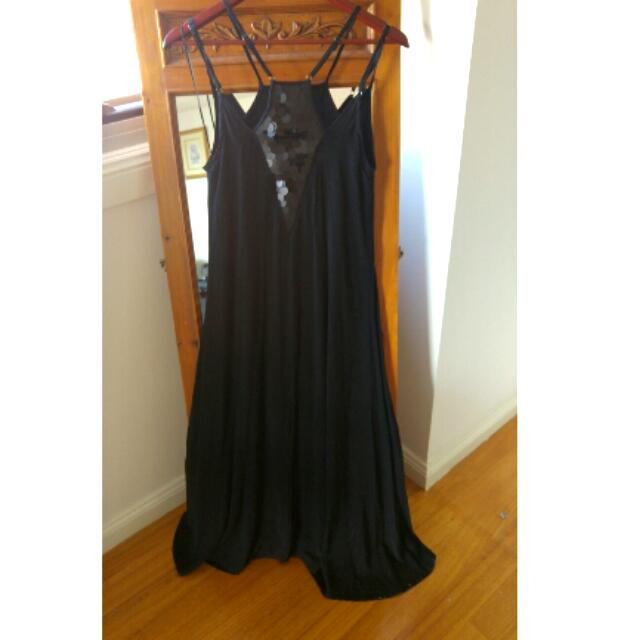NWT Black Maxi Dress