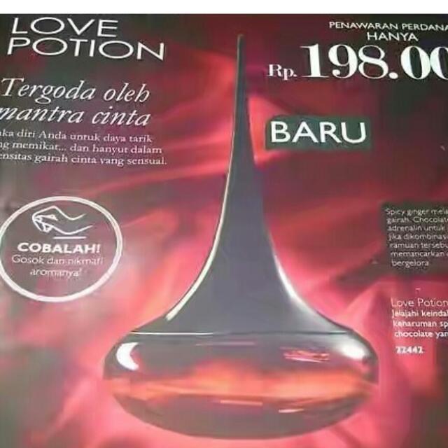 Parfum Love Potion Oriflame