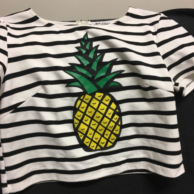Pineapple Striped Shirt