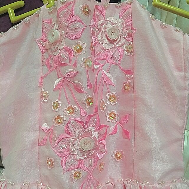 Pink Tube/Haltered Gown