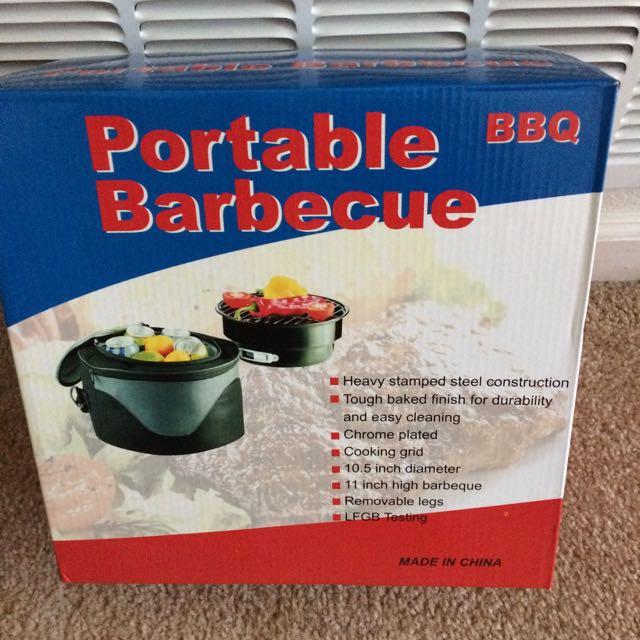 PORTABLE GRILL/COOLER COMBO