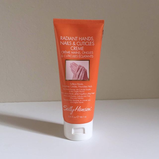 Radiant Hands Nails & Cuticle Creme, Sally Hanson