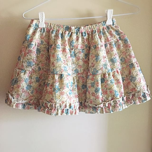 Ray Beams / XS-S / Mini Skirt