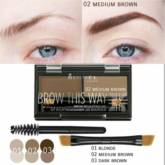 RIMMER LONDON brow this way sculpting kit