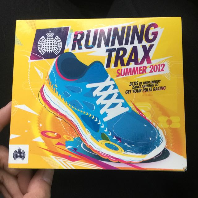 Running Trax Summer Music 2012 - 3 CDs - Walk, Jog, Run