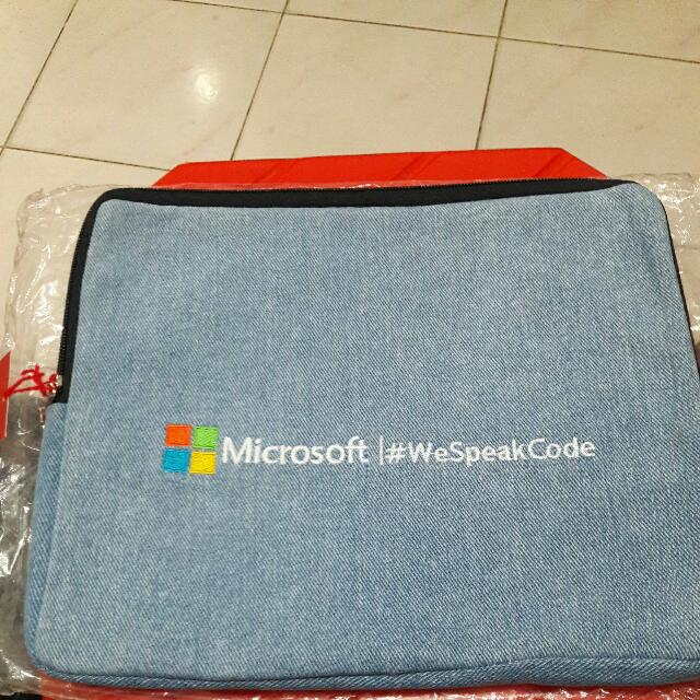 "SALE TAS NOTEBOOK/ MULTIFUNGSI "" MICROSOFT """