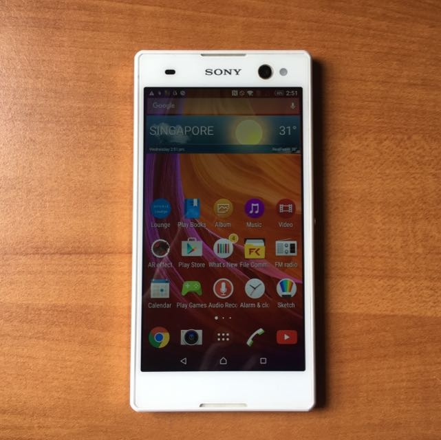 Sony Xperia C3 White, Mobile Phones & Tablets, Android