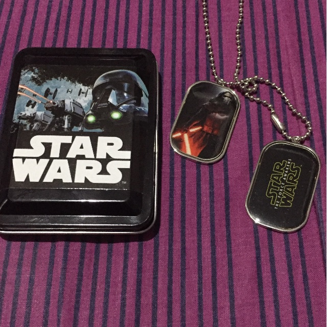 Star Wars dogtag by Silverworks