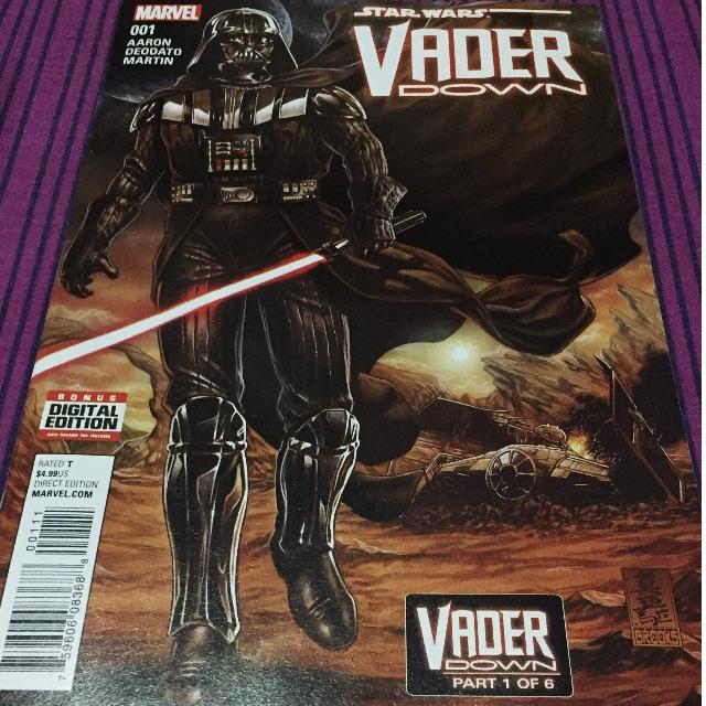 Star Wars Vader Down comicbook