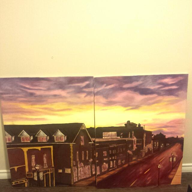 Streetsville Painting