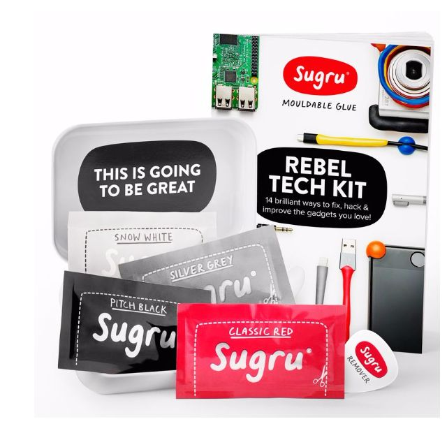 Sugru mouldable glue (Free2 Small Pack)