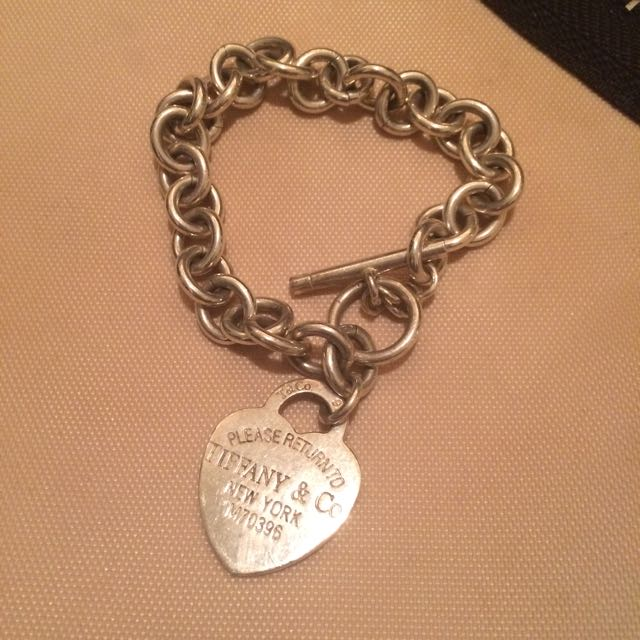 TIFFANY & CO. Charm Bracelet!