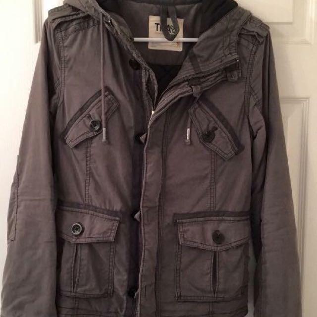 TNA Trooper Grey Jacket