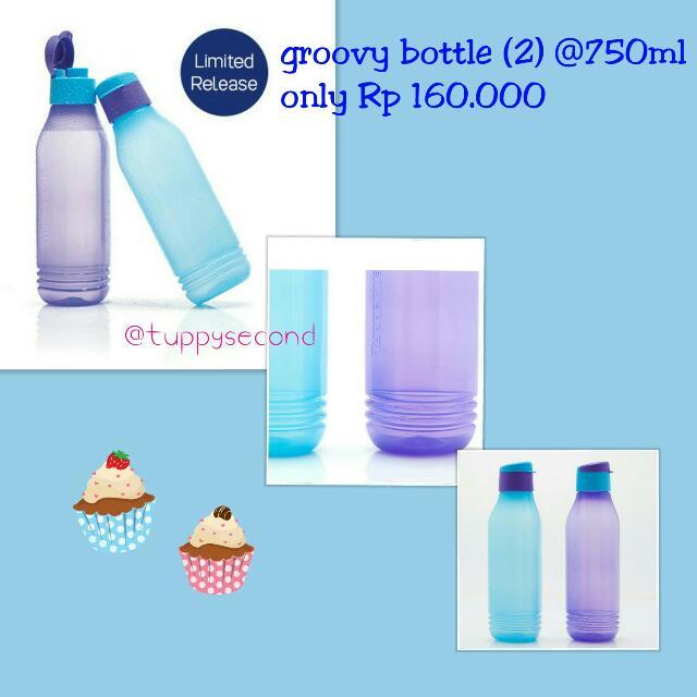 Tupperware Groovy Bottle