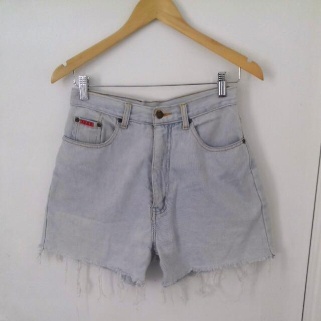 Vintage Blue Ridge Light Denim Cut Offs