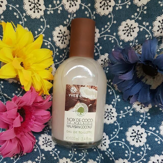 BeautyHand Yves Rocher Perfume Eau De ToiletteHealthamp; Coconut RjL345ScAq