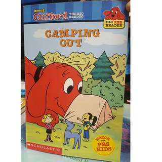 Clifford Camping Out