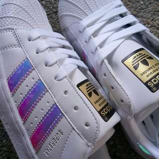 [PO] adidas superstar / adidas gold label superstar / adidas paint splatter superstar