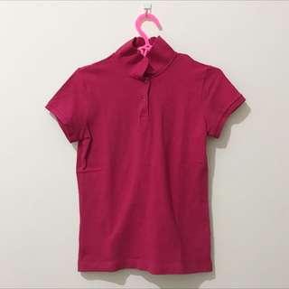 Giordano Polo Shirt Pink